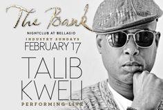 Talib Kweli @ TheBank | The Bellagio | Night Club Tours | #Travel #LasVegas | http://lasvegastours.onboardtours.com
