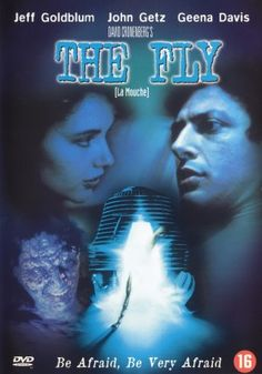 The Fly (1986) movie cover (Netherlands)