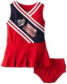 Washington Nationals Baby Cheerleader Outfit