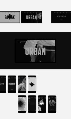 Web 17—18. Selected on Behance