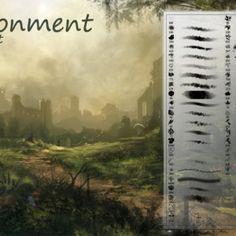 Environment Photoshop Brushes