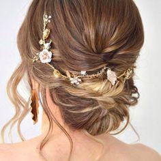 Tocados de cristal y metal archivos - Página 2 de 4 - hip&love New Hair, Wedding Hairstyles, Groom, Girly, Bridal, Band, Hair Styles, Accessories, Fashion
