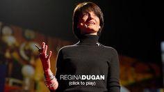 Inspiring    Regina Dugan: From mach-20 glider to humming bird drone  http://www.ted.com/talks/lang/en/regina_dugan_from_mach_20_glider_to_humming_bird_drone.html
