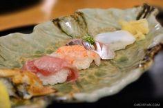 Nigiri sushi van Japans restaurant Yama in Rotterdam © mevryan.com #Japans #traditioneel #restaurant #rotterdam #sushi
