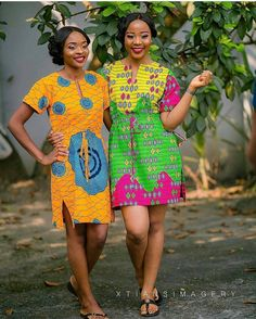 New Ankara Gown Styles you Should Try Out: Episode 1 African Print Dresses, African Fashion Dresses, African Attire, African Wear, African Women, African Dress, African Prints, African Inspired Fashion, African Print Fashion