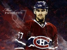 Max Pacioretty is my favorite hockey player with the habs Montreal Canadiens, Hockey Teams, Hockey Players, Max Pacioretty, Hockey World, The Ch, The Ordinary, Nhl, Captain America
