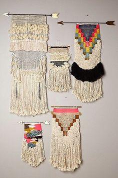 wall weaving hangings - Google Search