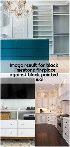 Image result for black limestone fireplace against black painted wall , Image result for black limestone fireplace against black painted wall... ,  #black #fireplace #Image #limestone #Painted #Result #wall Limestone Fireplace, Black Fireplace, Ikea Dresser Hack, Black Painted Walls, Garage Doors, Outdoor Decor, Image, Home Decor, Decoration Home