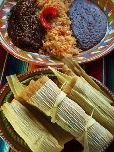 CHILE COLORADO PORK TAMALES  A True Mexican Christmas Dinner!!