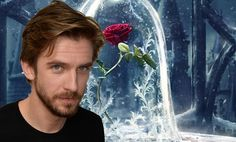 First look at Dan Stevens' lustrous locks in Beauty and the Beast