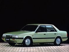 Mazda 626 Sedan (1982 – 1987). I had the 85 4 door on brown color. Shame I had to leave it in Idaho.