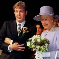 """Paul McCartney was knighted on this day in 1997 by Queen Elizabeth making him """"Sir"""" Paul McCartney."""