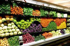 This full supermarket aisle