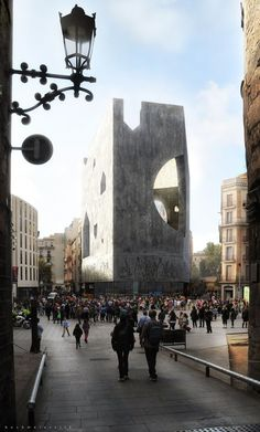 Architecture of Rehabilitación de la Fachada del coac | Barcelona, Spain