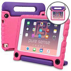 6b73b0e24c Apple iPad Mini 4 case - [World's First Anti Microbial Case for Kids] PURE