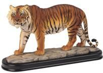 17 inch Bengal Tiger Collectible Wild Cat Figurine Sculpture - Free Shipping & Photon Gift