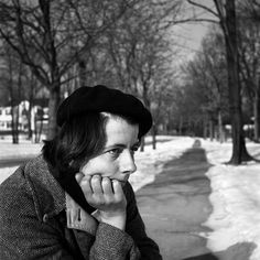 Vivian Maier Self Portrait, 1960 © Vivian Maier/Maloof Collection.  (February 1, 1926 – April 21, 2009) was an American street photographer. Maier worked for about forty years as a nanny, mostly in Chicago's North Shore, pursuing photography during her spare time. She took more than 150,000 photographs during her career, primarily of the people and architecture of New York City, Chicago, and Los Angeles, although she also traveled and photographed worldwide