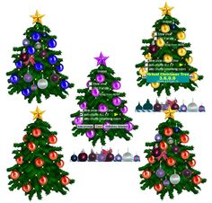Place a tastefully decorated and animated tree in any location on your screen.