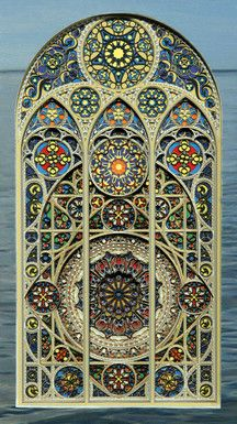 Laser cut paper by, Eric Standley
