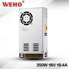CE WEHO High voltage power supplier 12v 24v 36v 48v 350w smps ...