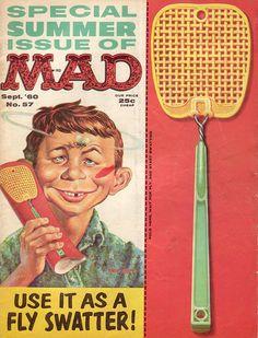 Mad Magazine. No. 57. Sept. 60. MAD Magazine Cover scan by Jasperdo, via Flickr