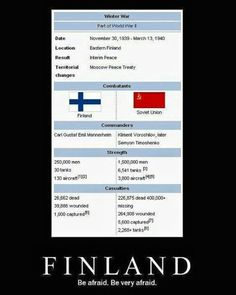 Historically, Finland lost the Russo-Finnish Winter War. This is a Winter War Alternative History where Finland wins! The 1975, Funny Images, Funny Pictures, Funny Pics, Hilarious, Finnish Language, Nerd, Soviet Union, Hetalia