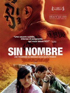 Sin Nombre est un film de Cary Fukunaga avec Edgar Flores, Paulina Gaitan. Synopsis : Au Honduras, la jeune Sayra retrouve son père après une longue séparation. Elle va enfin réaliser son rêve, émi...