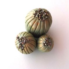 Art Sculpture Stylized Cactus Cluster by CalliopeAZCreations, $26.00