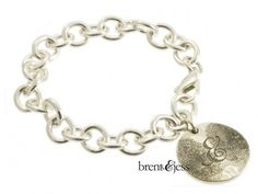 The You & Me Double Fingerprint Bracelet - by Brent & Jess Custom Handmade Fingerprint Wedding Rings and Jewelry