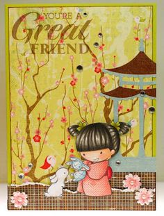 Akemi   **** Sister Stamps & Washi Paper  available from www.HankoDesigns.com ****