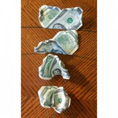 Take your time and be patient putting the money onto wires to avoid damaging the bills.
