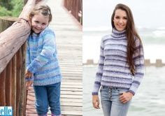 Pullovers Brand: Elle Yarn: Mischief Size From: 2 yrs Size To: 117 cm Baby Patterns, Free Pattern, Baby Kids, Turtle Neck, Pullover, Knitting, Lady, Sweaters, Crafts