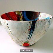 Big bowl 2011, can be seen at NC, St Ives, Cornwall