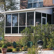How to Install a Porch Screen: A clever new way to replace or install porch screening. From ThisOldHouse.com  #porch