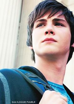 Logan is seriously the perfect Percy. Yeah I understand he's supposed to be 12 or wherever in Lightning thief.... but Logan is exactly how I imagine the 16-year old Percy. <3 so sexy!!!