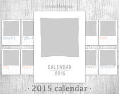 #photo #calendar #template