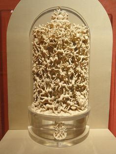 carved from a single piece of ivory