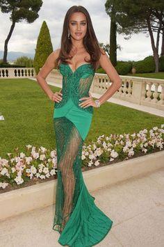 Irina Shayk at the Cannes 2015 AmFAR gala