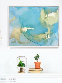 Abstract Art Marta Spendowska Two oceans away but close
