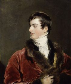 Sir Thomas Lawrence  - Portrait of John Arthur Douglas Bloomfield, 2nd Baron Bloomfield (1802-79) was a British peer & diplomat...