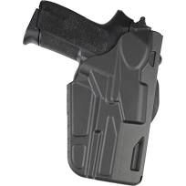 Safariland 7376 7TS ALS Hi-Ride Belt Holster Right Hand S&W M&P Shield 9mm, 40 S&W with TLR-6 Nylon Black SKU - 298749