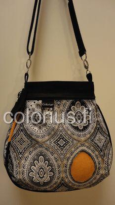 laukku ornamentti kulta hohto käsilaukku handbag colorius vaihtokuoret