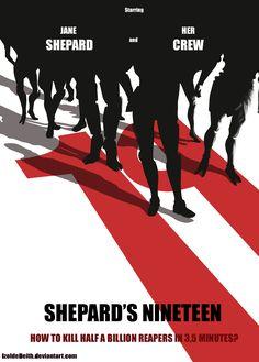 Shepard's Nineteen by IzoldeDeith.deviantart.com on @deviantART