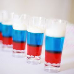 How To Make Red, White, And Blue Jello Shots Just In Time For Your Fourth Of July Celebration