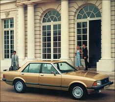 September 1977 saw the launch of the MkII Granada, of which this is the Ghia version Retro Cars, Vintage Cars, Ford Granada, Ford Classic Cars, Child Hood, Nice Cars, Old Cars, Over The Years, Automobile