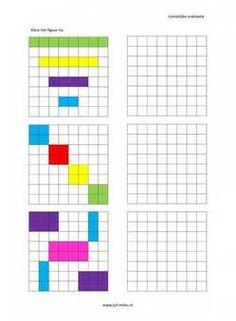 Ruimtelijke orientatie - 8 bij 8 nakleuren 06