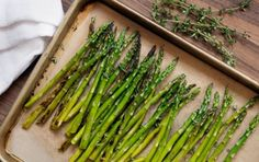 How to Cook: Roasted Asparagus