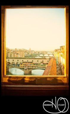 I want this window to add a little glimpse into Italy...from my apt!