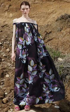 Get inspired and discover Cynthia Rowley trunkshow! Shop the latest Cynthia Rowley collection at Moda Operandi. Kaftan, Bohemian Style, Boho, Cynthia Rowley, Spring Summer 2016, Tie Dye Skirt, Lounge Wear, High Fashion, Strapless Dress