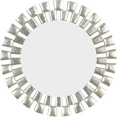 Hera Silver Wall Mirror - Overstock™ Shopping - Great Deals on Design Craft Mirrors